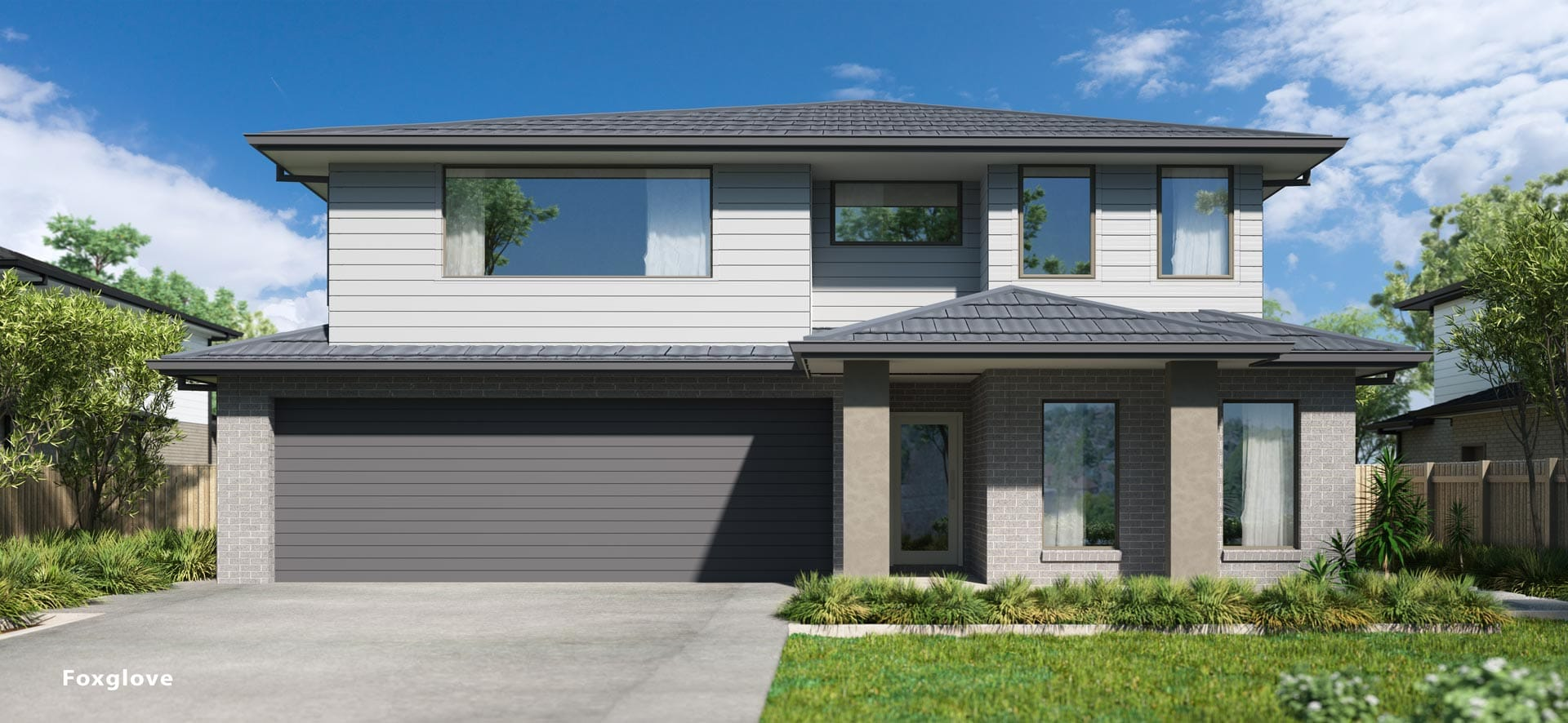 Foxglove Double House Design