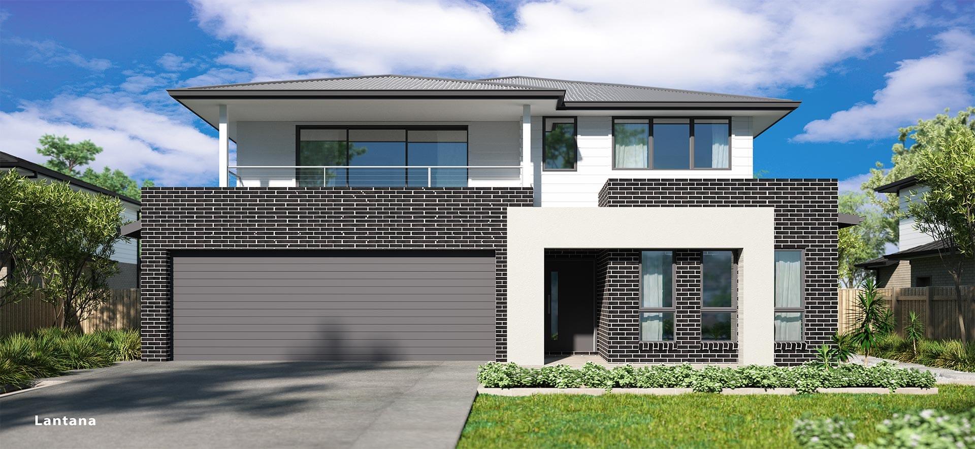 Lantana Double House Design