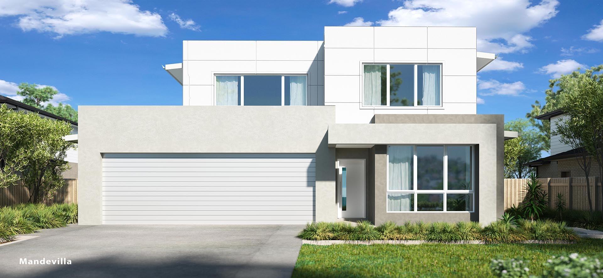Mandevilla Double House Design