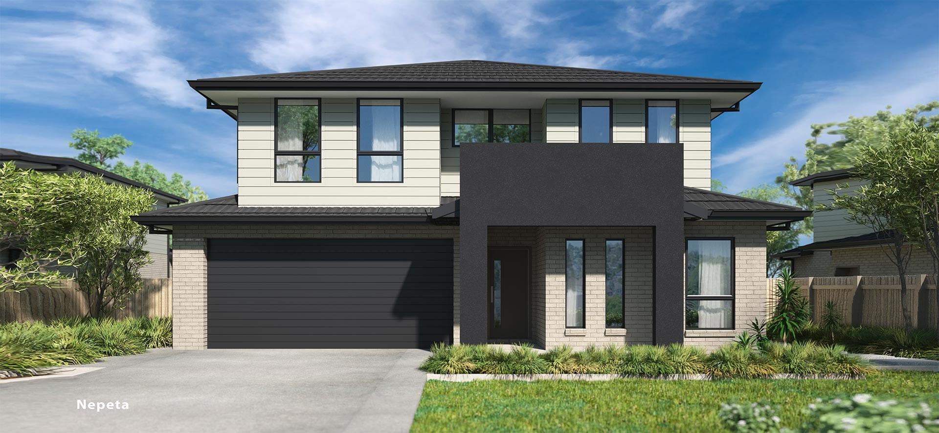 Nepeta Double House Design