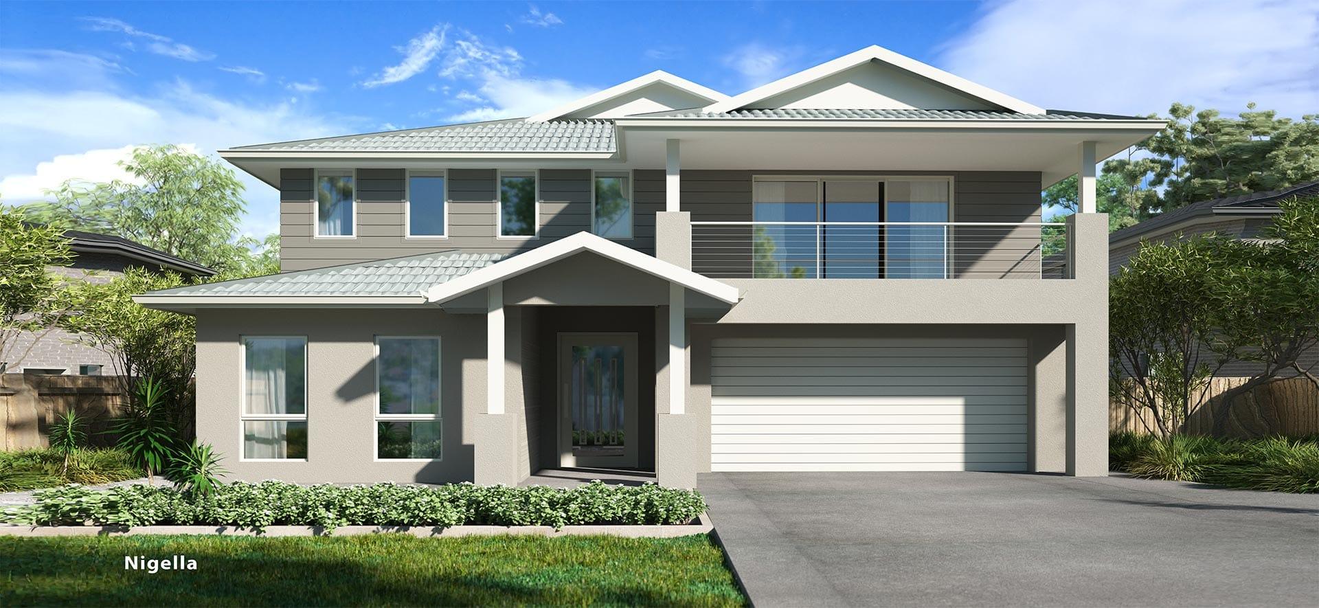 Nigella Double House Design