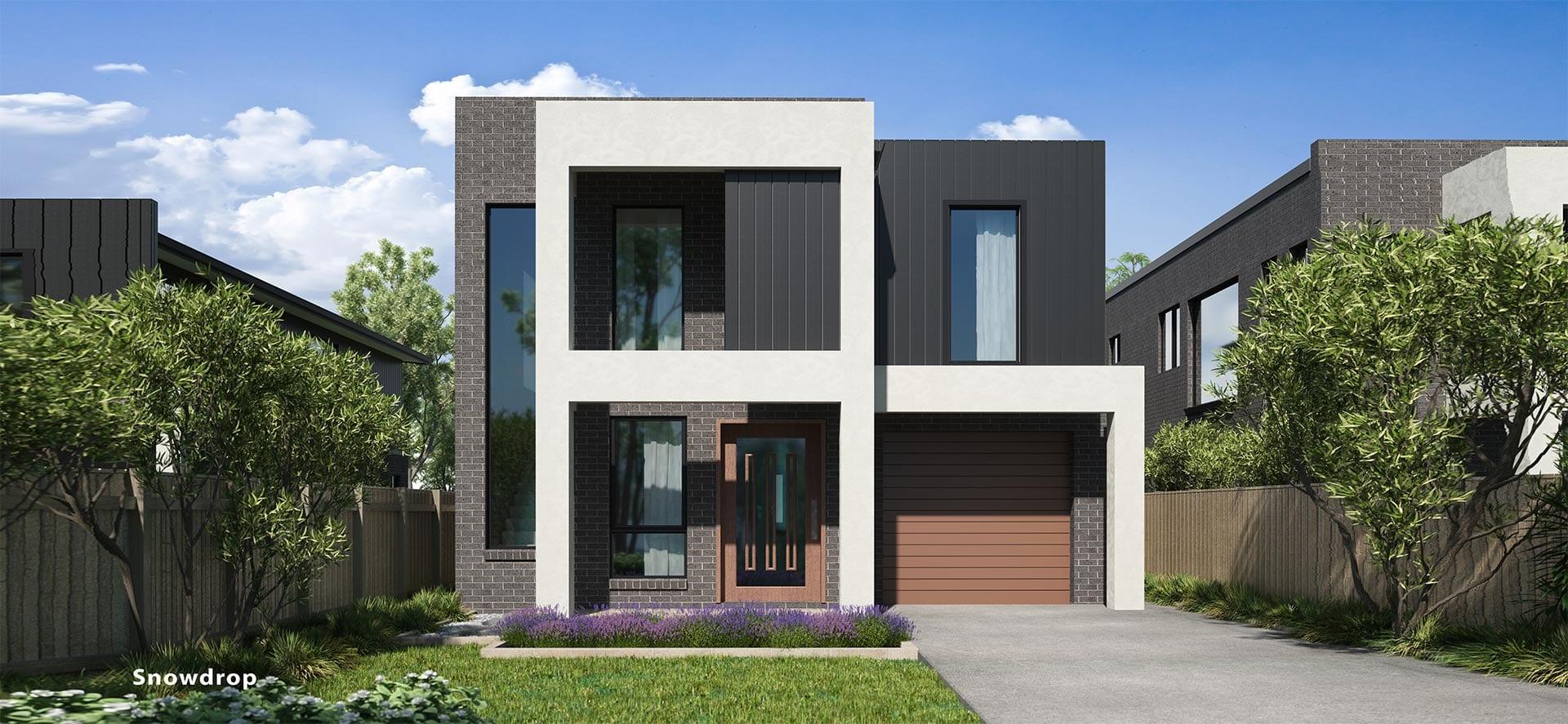 Snowdrop Double House Design