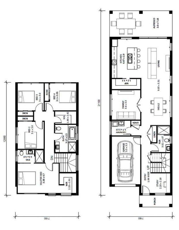 Alara-26V-Double-Storey-House-Design