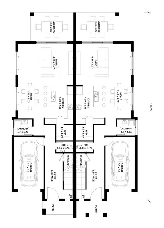 Alora-24 Duplex Floor Plan Img