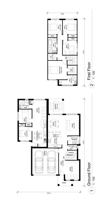 Altena-29 House and Granny Floor Plan Img