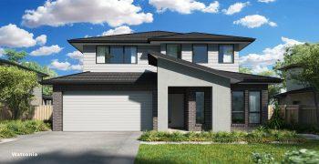 Watsonia Double House Design